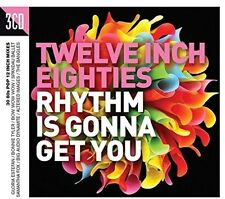 Twelve Inch 80s: Rhythm Is Gonna Get You (2016, CD NEUF)3 DISC SET
