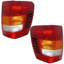1999 - 2003 JEEP GRAND CHEROKEE TAIL LIGHTS RIGHT & LEFT SET PAIR