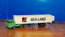 LOT OF 8 (EIGHT) ''SEA-LAND''TRACTOR TRAILER (HO) 1:87 True Scale
