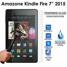 "Tablette en verre trempé guard protecteur d'écran pour amazon kindle fire 7"" (2015)"