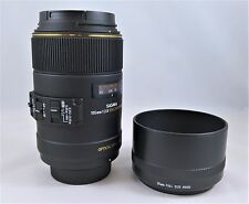Mint!! Sigma EX 105mm f/2.8 HSM DG EX OS Lens For For Nikon Macro (Barely Used)
