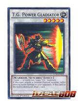 YUGIOH x 3 T.G. Power Gladiator - LC5D-EN214 - Common - 1st Edition Near Mint