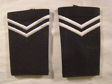 """Army ROTC Corporal Embroidered Epaulet Small 3.5"""" X 2"""" & Junior JROTC PAIR NOS"""