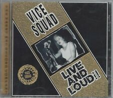 VICE SQUAD - LIVE AND LOUD!! - (still sealed cd) - MAYO CD 562