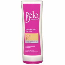 New Latest BELO ESSENTIALS WHITENING LOTION Large 200ml Pink SPF30 USA Seller