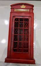 Vintage Phone Booth Pay Rotary Classic 1950 Old Fashion Dial Saving Box Gift