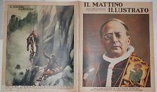 1937 Pio XI Galleria Parmeggiani a Reggio Emilia anello di Saturno Watzmann di e
