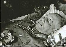 ((  5 x 7 Inch )) - German WW II Photo        Erwin Rommel Funeral Service.