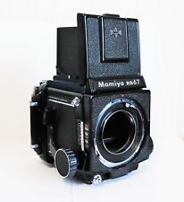 Mamiya RB67 Professional Medium Format Body, 120 Film Back Excellent