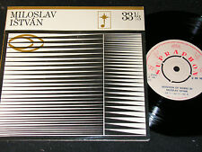"MILOSLAV ISTVAN Selection Of Works by .../ Czech 7""SP 1968 SUPRAPHON 0899885"