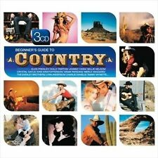 Beginner's Guide to Country by Various Artists (NEW 3CD, 2008, Demon Records)