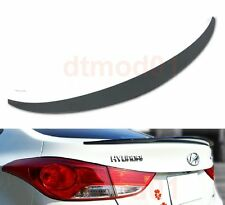 Unpainted Trunk Spoiler For Hyundai MD Elantra Avante 4D Sedan OE Type 11-15