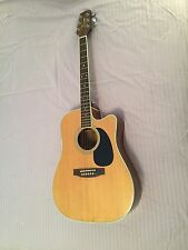Takamine 1993 FP360SC Guitar Dreadnought Acoustic-Electric W/HSC —Used