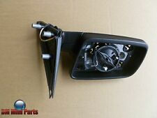BMW E60 E61 LEFT HEATED WING MIRROR WITHOUT GLASS 51167189573