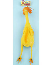 Fake Rubber Chicken Clown Prop Circus Theme Costume Accessory