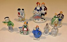 Lot of 8 Occupied Japan Figurines