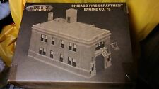 Code 3 Collectibles - CHICAGO ENGINE COMPANY 78 Firehouse - 1 Bay - MINT
