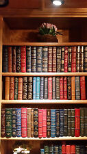 EASTON PRESS LOT : THE LIBRARY OF GREAT LIVES 58 VOLUMES