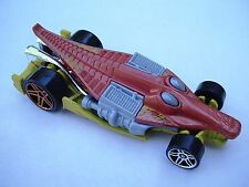 Orange CROC ROD Race Car CREATURE CAR Hot Wheels  LOOSE, Fresh Out of the Box!