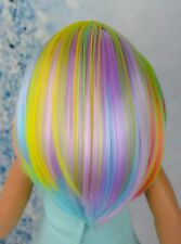AG Doll Wig Rainbow!! HEAT SAFE fits 10-11 DISCOUNTED WIG!! SEE DESCRIPTION