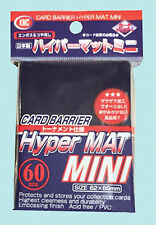 60 KMC MINI HYPER MAT BLUE Small Card Barrier NEW Matte Deck Protector Sleeves