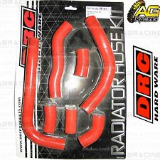 DRC Red Radiator Rad Hose Kit For Honda CRF 450R 2009 09 Motocross Enduro New