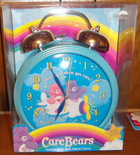 Care Bears Jumbo Twin Bell Alarm Clock New In Box 2004