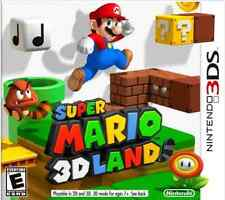 3DS adventure-super mario 3D land (us import) 3DS nouveau