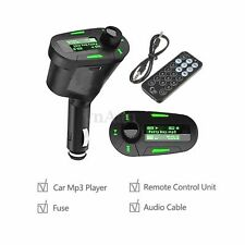 Wireless Car FM Radio Transmitter Audio AUX USB SD Card MP3 Music Player Remote