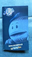 Reno Aces 2014 Pocket Schedules (Arizona Diamondbacks, Archie Bradley)