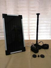 WIRELESS 2W 6V SOLAR PANEL POWERED SUBMERSIBLE WATER FOUNTAIN POND 53GPH PUMP