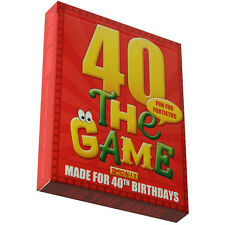 40th BIRTHDAY GIFT PACKAGE - a new and easy 40th birthday present idea
