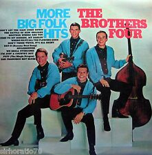 THE BROTHERS FOUR More Big Folk Hits LP - 60s MONO