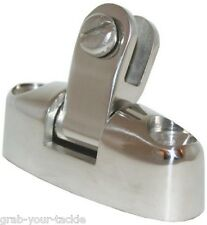 Boat Canopy Fitting Swivel Deck Mount Fits All Canopy Ends 316 Stainless Steel