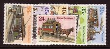 NEW ZEALAND....  1985  vintage trams  set mnh
