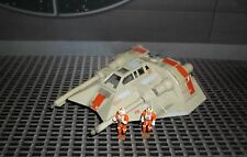STAR WARS ACTION FLEET SERIES REBEL SNOWSPEEDER W / PILOT LUKE & GUNNER FIGURES