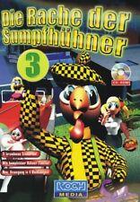 Die Rache der Sumpfhühner 3 - PC Spiel in DVD-Box - NEU - Klassiker