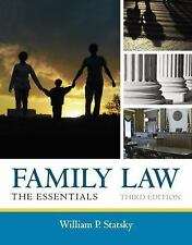 Family Law: The Essentials, Statsky, William P., Good Book