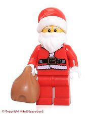 LEGO Collectible MiniFigure: Series 8: #10 - Santa (w/ Black Stand) SEALED PACK!