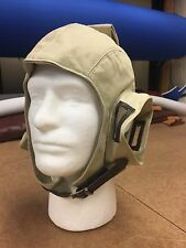 New Cloth Headset Flying Helmet In Khaki