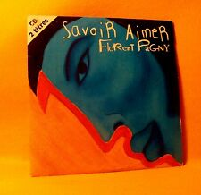 Cardsleeve Single CD Florent Pagny Savoir Aimer 2TR 1997 Pop Chanson