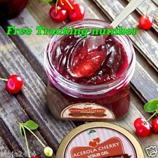 1 Pcs Acerola Cherry Scrub Gel Whitening Skin Smooth & Soft Reduces Dark Circles