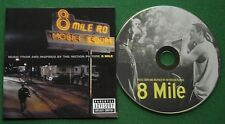 Music from and Inspired by 8 Mile Eminem 50 Cent Gang Starr Macy Gray Nas + CD