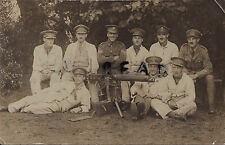 WW1 soldier Officer Group School of Musketry Vickers Machine Gun Dragoon Guards