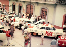 Lincoln Capri V8 Carrera PanAmericana road racer - 1953 - photograph photo
