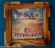 Puerto Rico Mini Dominos Table Souvenirs + Mini Dominos - Rican Boricua 100%WOOD