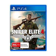 NEW Sniper Elite 4 - PS4
