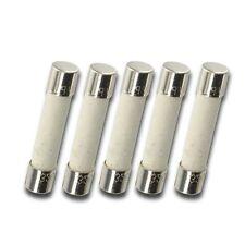 5x T4AH250V, T4A 250V, T4 H250V, T4A 250V, T4H250V cartridge CERAMIC fuses 5X20m