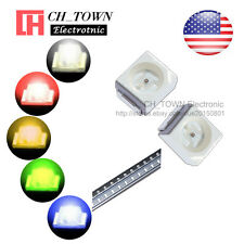 5 Lights 100PCS 1210 (3528) SMD SMT White Red Yellow Green LED Diodes Mix Kits