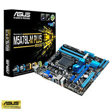 ASUS M5A78L-M PLUS USB3 SOCKET AM3 + PCI-E Scheda Madre Inc FREE WIFI USB DONGLE